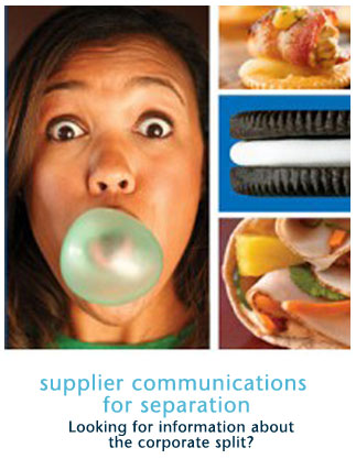 Supplier Communications for Separation